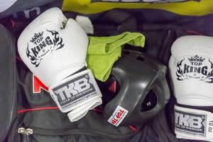 Boxhandschuhe von Top King - FIBO Köln 2018