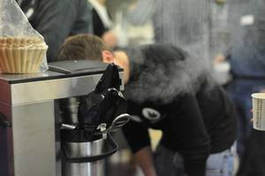 BrainCamp Cologne: Kaffeemaschine