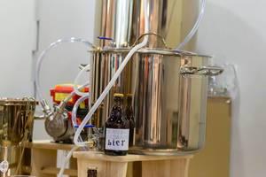 Brauanlage für hausgebrautes Bier