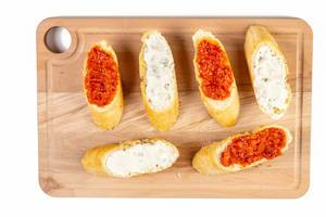 Bread Baguettes with Tomato and Tartar Sauce