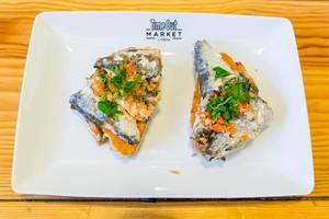 Bread with Sardines