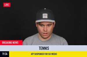 Breaking News: ATP Suspended for six weeks