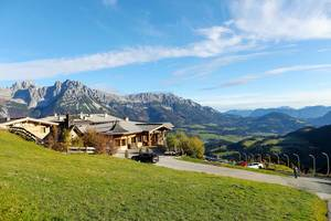 Brenneralm SkiWelt with panoramic view of Wilder Kaiser and Inn Valley (Flip 2019)