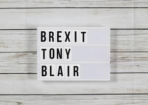 Brexit: Ex-Premierminister Tony Blair will zweites Referendum