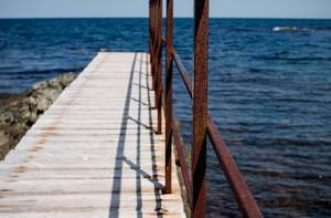 Bridge in Black sea