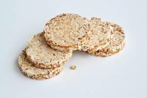 Brot aus Buchweizen und Weizen