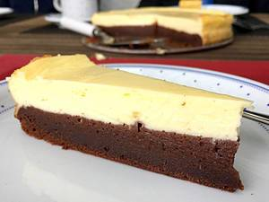 Brownie-Cheesecake Kuchen