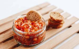 Brunch - Tomatensauce und Bruschetta