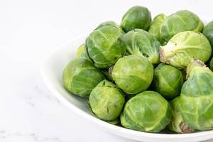 Brussel Sprouts in the white bowl (Flip 2019)