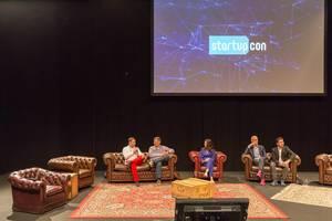 Bühne bei der Startupcon 2018