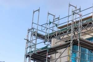 Building undergoes renovation