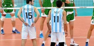 Bulgarien - Argentinien während den Olympischen Spielen 2012