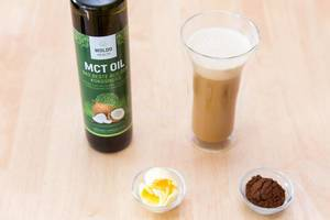 Bulletproof Coffee looks like a Latte
