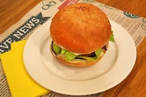 Burger mit Linsen Kotelett
