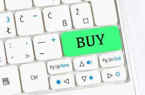 Buy green keyboard button