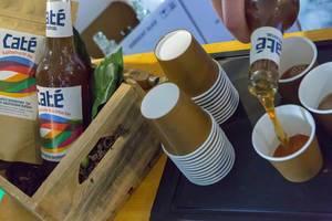 Café Kaffeefrucht pur Getränk