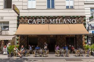 Cafe Milano gegenüber vom MAK in Wien