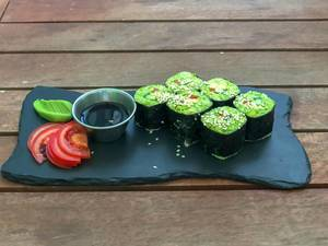 California rolls beim Avocado Cafe