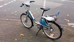 Call a Bike Fahrrad mit Kindersitz