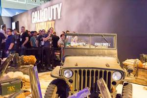 Call of Duty WWII Kulisse - Gamescom 2017, Köln