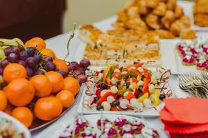 Canape Vegetable breakfast Table (Flip 2019)