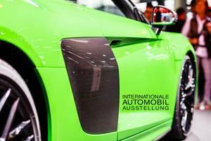 Carbon Tür des Audi-Top-Modell R8 V10 plus tbd