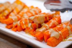 Carrot with Dressing