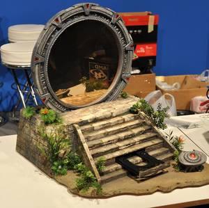 """Case Modding """"Stargate"""" auf der Gamescom"""