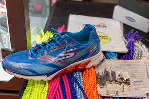 Caterpy style laces for running shoes