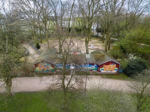 Catland in einem Park in Köln