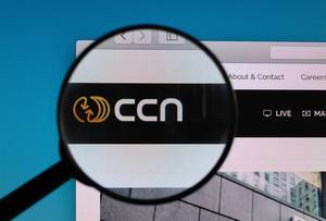 CCN logo under magnifying glass