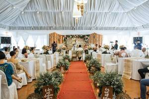 Center shot of a wedding at Zaycoland Resort, Kabankalan City