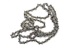 Chain on white background