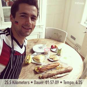 Champions Brunch after Early Bird Longrun or how do you say in German: