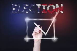 Checkbox with Election text