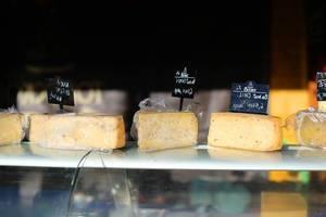 Cheese at farmers market (Flip 2019)