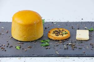 Cheese with peppercorn