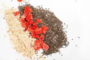Chia Seeds, Dried Papaya and Oatmeal (Flip 2020)