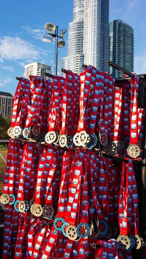 Chicago Marathon and 5K in October 2017