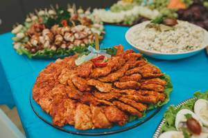 Chicken Meat Dish With Tomatoe Sauce On Table (Flip 2019)