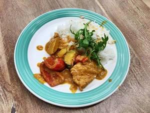 Chicken Tandoori mit Reis