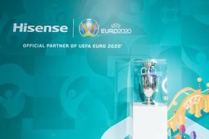 Chinesischer Elektronikkonzern Hisense ist offizieller Partner der UEFA Euro 2020