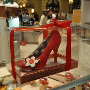 Chocolate Shoe / Schokoladenschuh