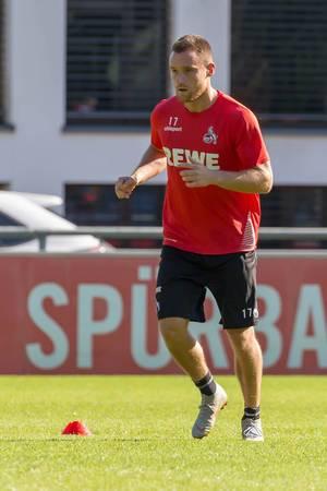 Christian Clemens beim Training am 12.09.2018