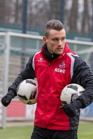 Christian Clemens nach dem Training