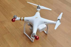 Christmas drone instead of advent calendar