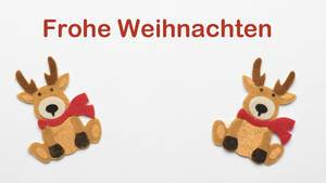 Christmas greeting in German language