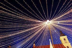 Christmas lights at Christmas fair (Flip 2019)