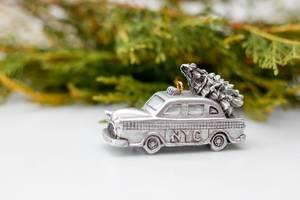 Christmas New-York Taxi Ornament