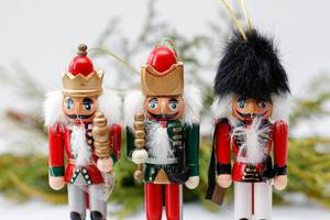 Christmas Nutcrackers Ornaments